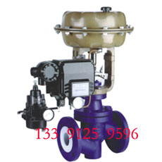 ZJHPF-16K Pneumatic fluorine single seat regulating valve