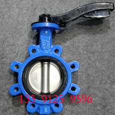 Wafer butterfly valve - LT type