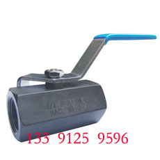 1PC NPT Ball Valve  - 2000PSI