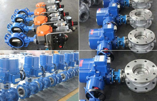 Pneumatic Soft Seat Butterfly Valve、Electric Anti-Explosion Flange Butterfly Valve、Forged Metal Seat Ball Valve