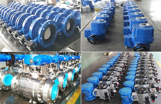 Pneumatic Ball Valve、Forged Ball Valve、Double Flanged Butterfly Valve