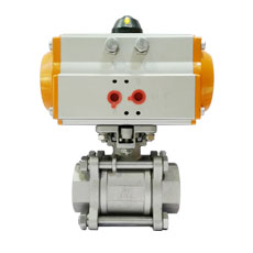 Pneumatic Ball Valve -  NPT 3pcs