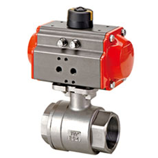 Pneumatic Ball Valve -  NPT 2pcs