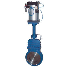 Pneumatic Inside-screw Knife Gate Valve