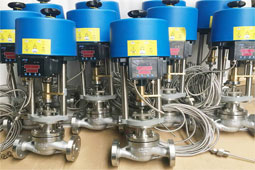 Electric regulating valve