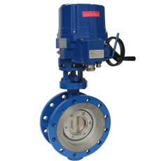 Electric Flanged High Performance Butterfly Valve